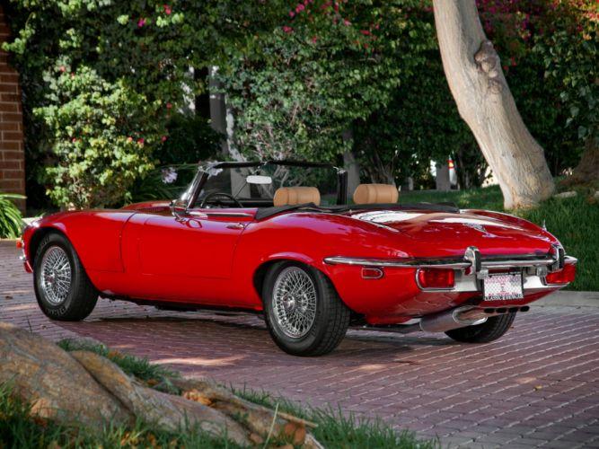 1971-74 Jaguar E-Type V12 Open Two Seater US-spec (Series-III) supercar classic 5 wallpaper