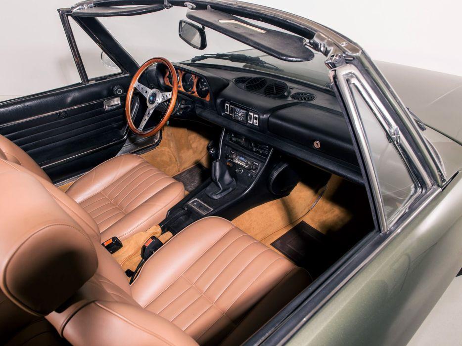 1977 Peugeot 504 Cabriolet conertible classic interior     h wallpaper
