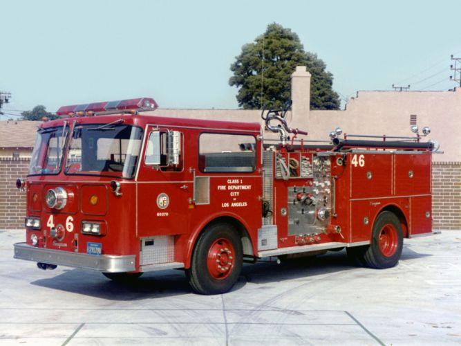 1980 Seagrave Model-HB firetruck emergency semi tractor g wallpaper