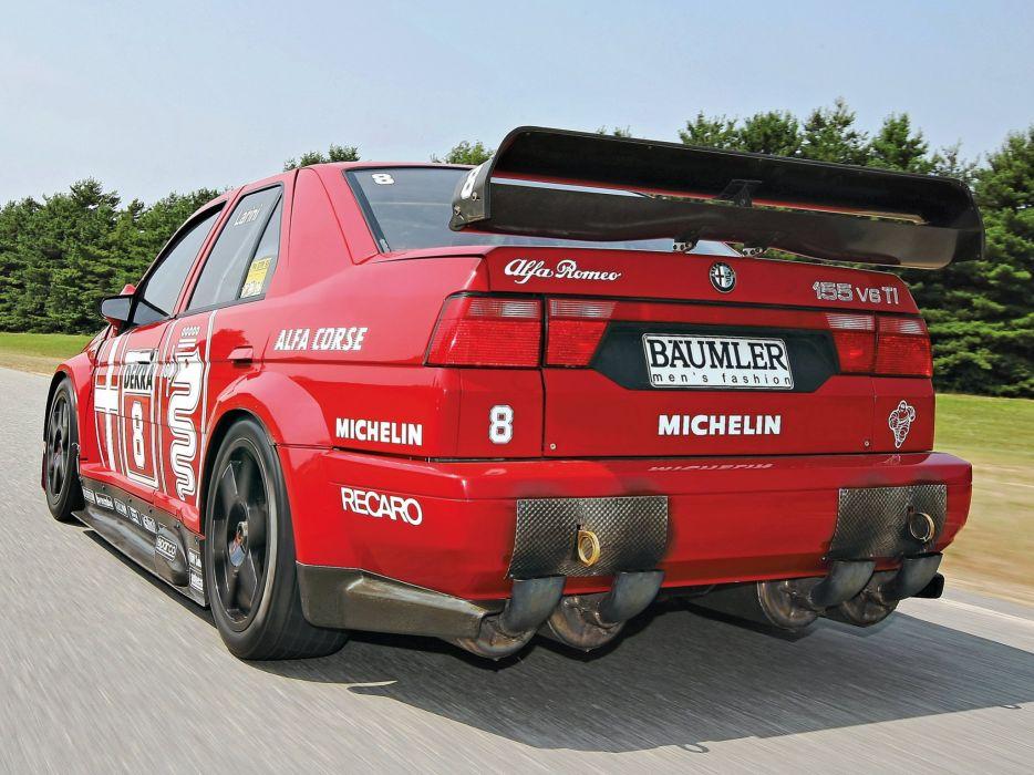 1993 Alfa Romeo 155 V-6 T-I DTM (SE052) race racing  r wallpaper