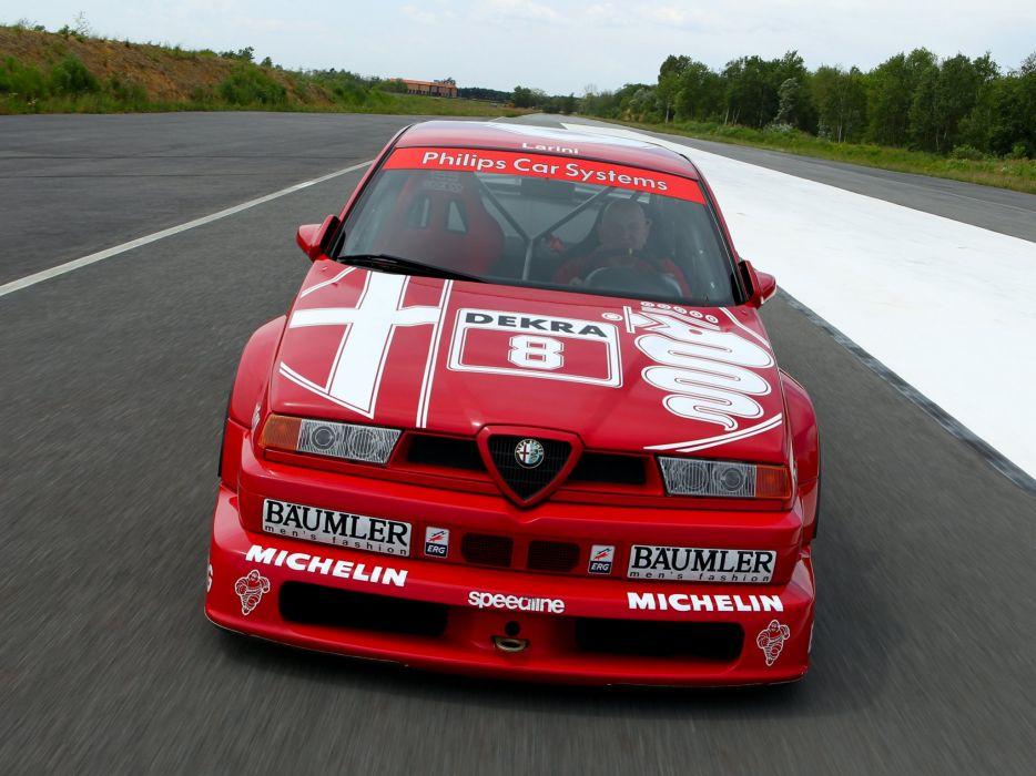 1993 Alfa Romeo 155 V-6 T-I DTM (SE052) race racing   fs wallpaper