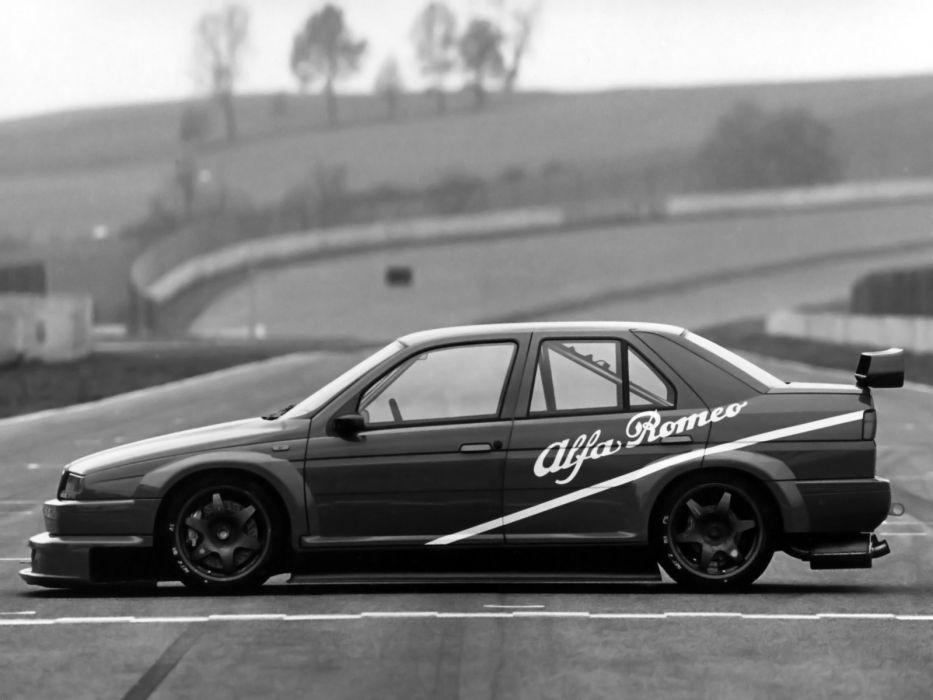 1993 Alfa Romeo 155 V-6 T-I DTM (SE052) race racing   d wallpaper