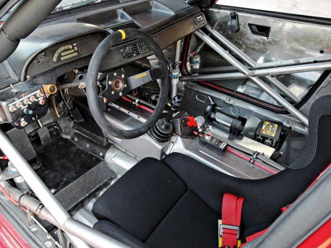 1993 Alfa Romeo 155 V-6 T-I DTM (SE052) race racing interior f wallpaper