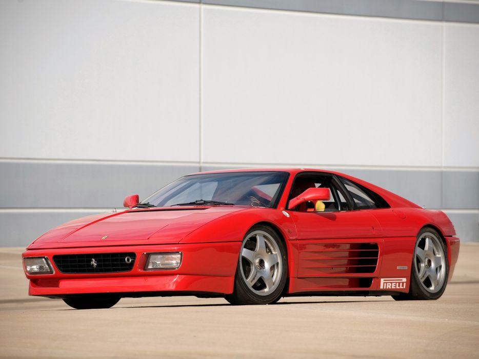 1994 Ferrari 348 G-T Competizione supercar      d wallpaper