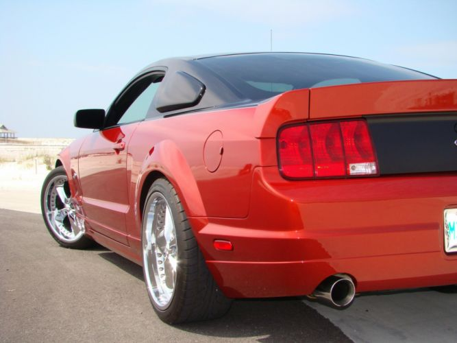 2006 Foose Design Mustang Stallion ford tuning muscle hot rod rods f wallpaper
