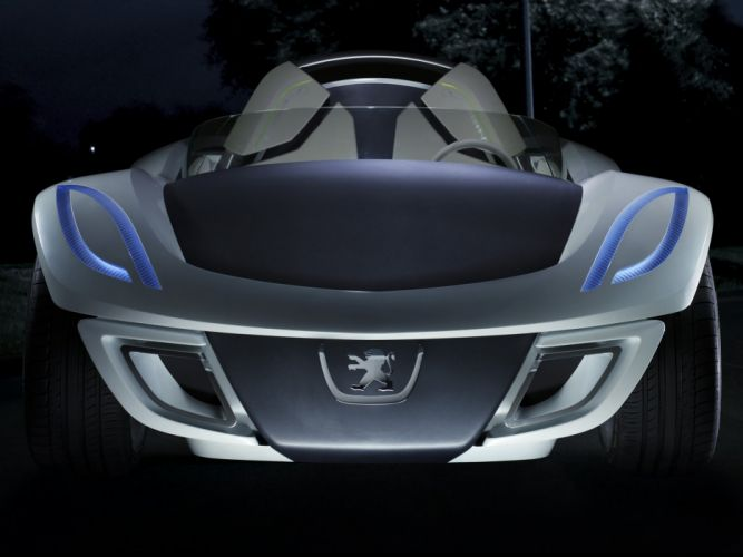 2007 Peugeot Flux Concept supercar fs wallpaper