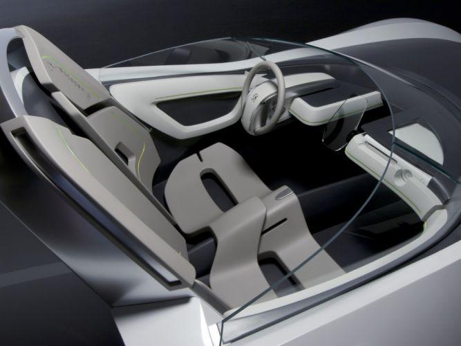 2007 Peugeot Flux Concept supercar interior f wallpaper