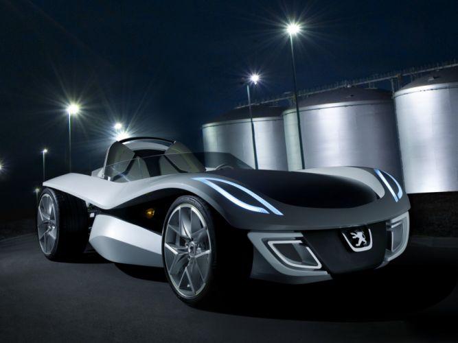 2007 Peugeot Flux Concept supercar f wallpaper