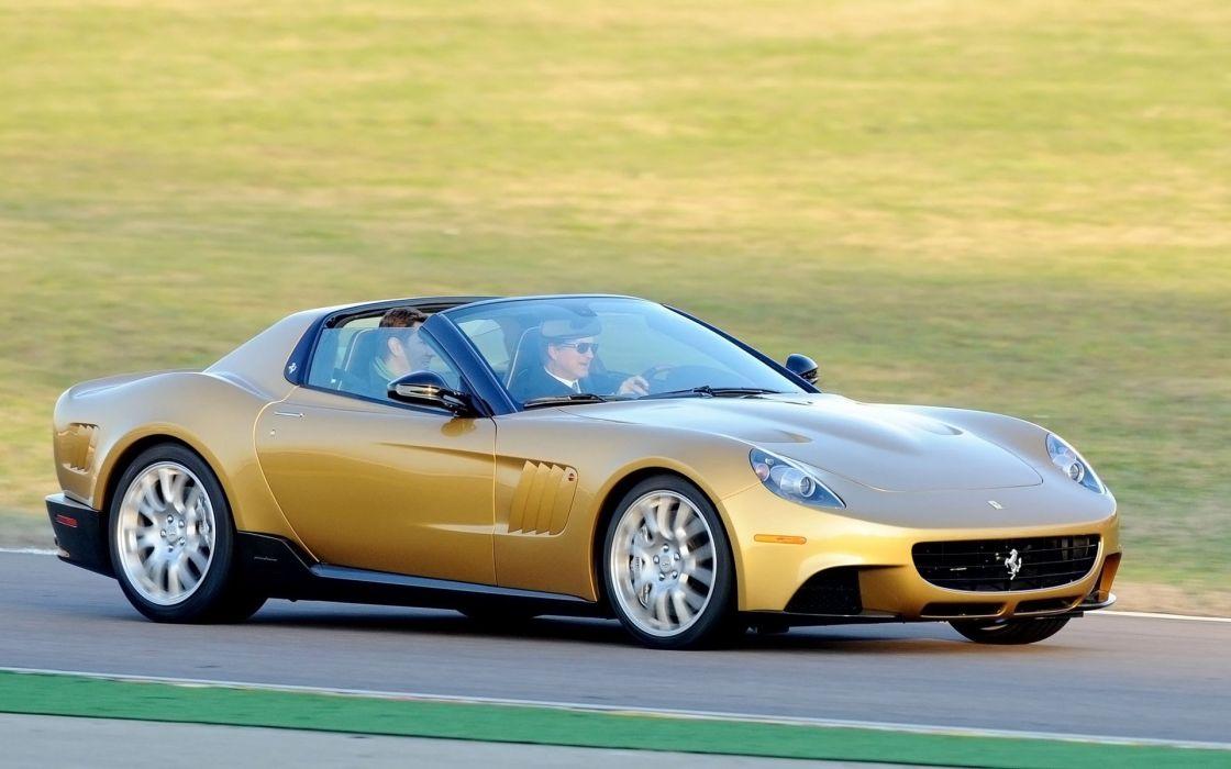 2009 Ferrari P540 Superfast Aperta supercar   f wallpaper