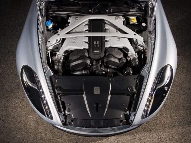 2012 Aston Martin DB9 US-spec engine h wallpaper