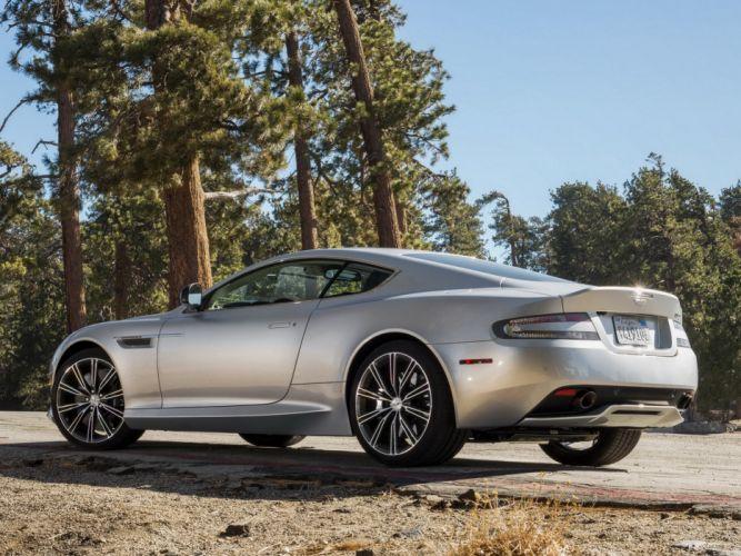 2012 Aston Martin DB9 US-spec hy wallpaper