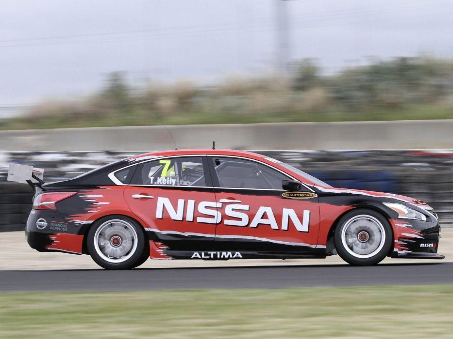 2012 Nissan Altima V-8 Supercar L33 race racing   hf wallpaper