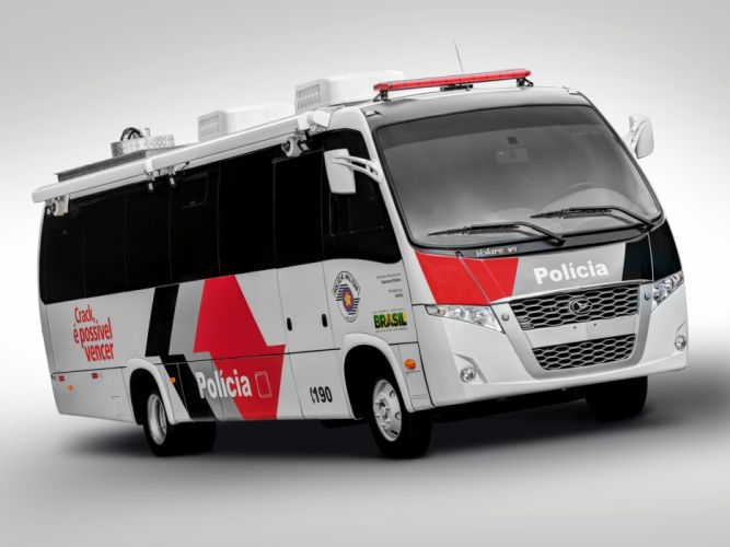 2013 Volare W-9 Policia bus motorhome transport semi tractor emergency h wallpaper