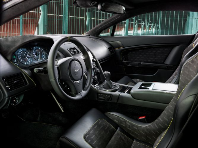 2014 Aston Martin V-8 Vantage N430 interior g wallpaper