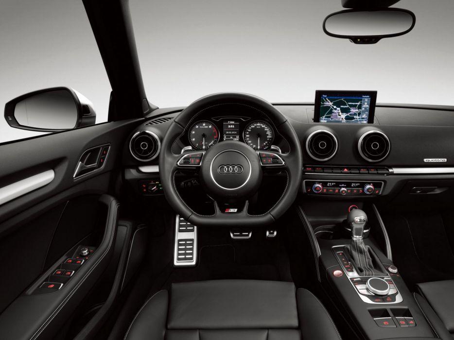 2014 Audi S-3 Cabrio (8-V) convertible interior   d wallpaper