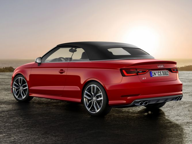 2014 Audi S-3 Cabrio (8-V) convertible e wallpaper