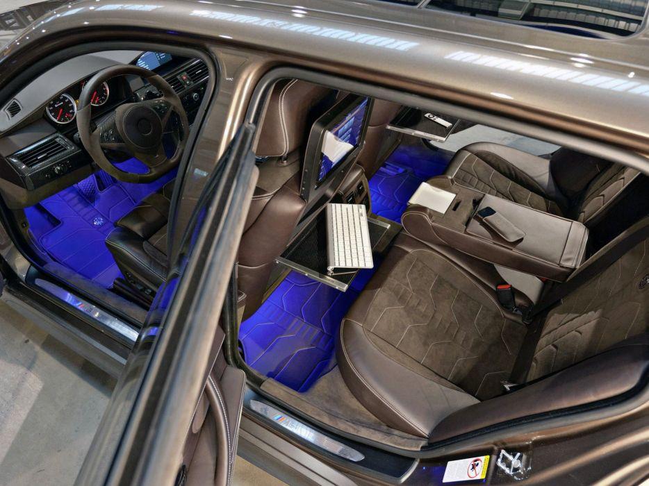 2014 BMW G-Power M-5 Hurricane R-R Touring (E61) stationwagon tuning interior     f wallpaper