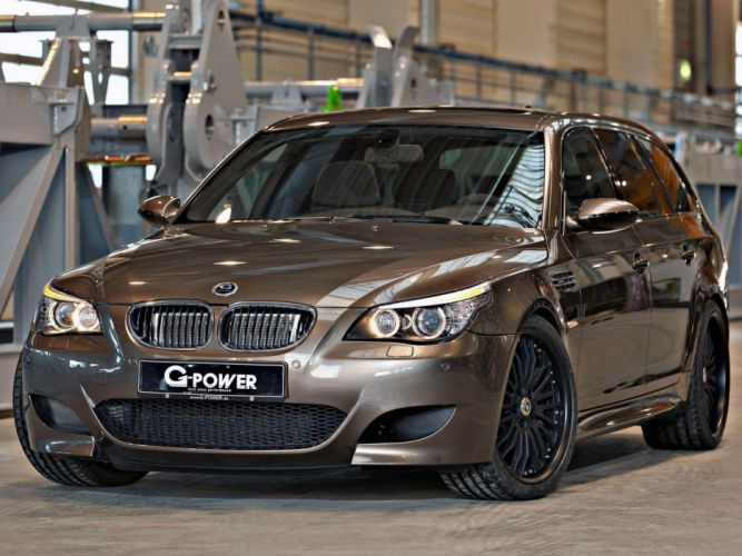 2014 BMW G-Power M-5 Hurricane R-R Touring (E61) stationwagon tuning f wallpaper