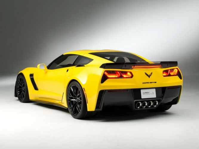 2014 Chevrolet Corvette Stingray Z06 (C-7) supercar muscle j wallpaper