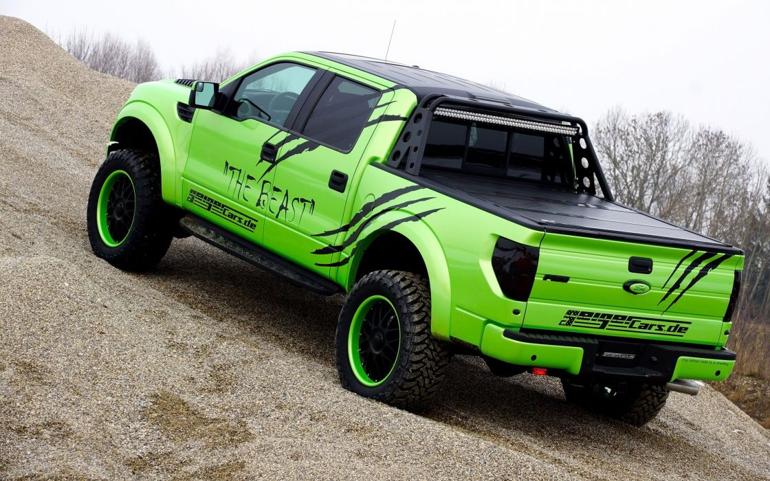 2014 GeigerCars Ford F-150 SVT Raptor Beast pickup muscle tuning hot rod rods   te wallpaper