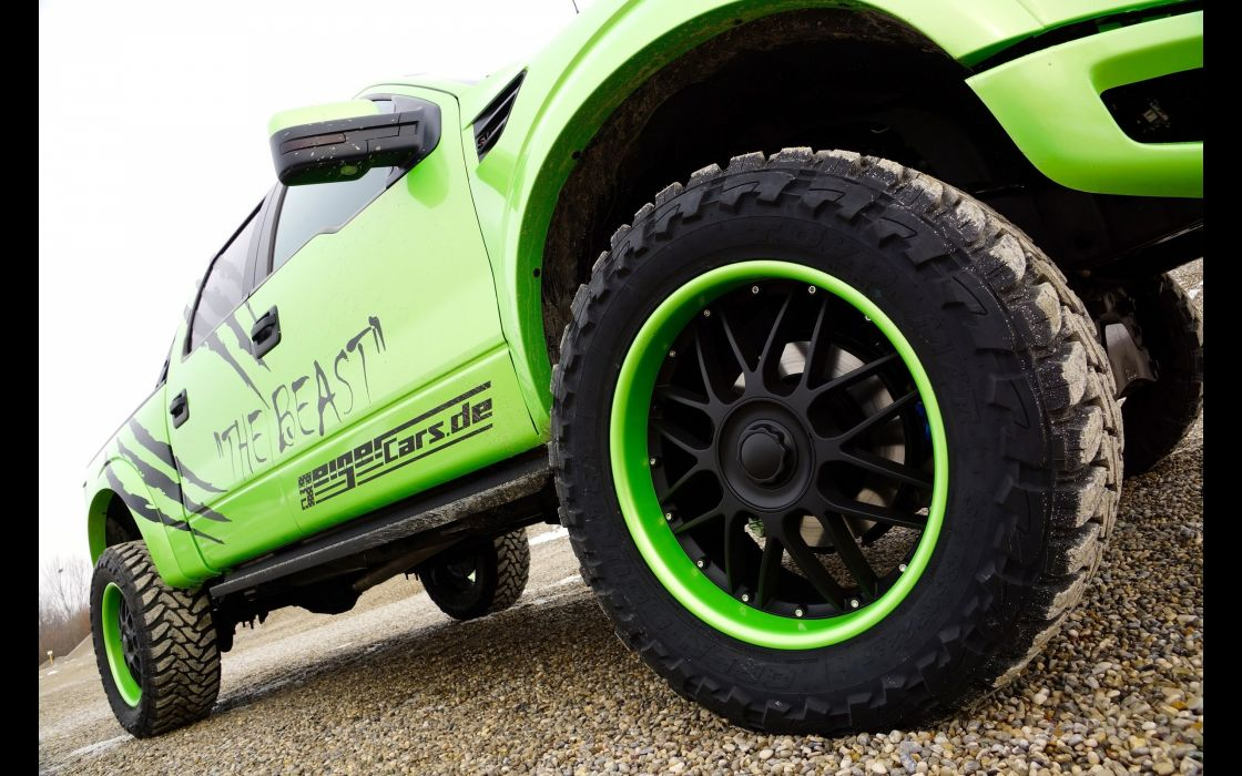 2014 GeigerCars Ford F-150 SVT Raptor Beast pickup muscle tuning hot rod rods wheel  g wallpaper