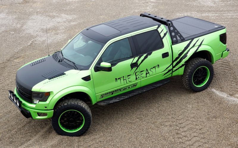 2014 GeigerCars Ford F-150 SVT Raptor Beast pickup muscle tuning hot rod rods t wallpaper