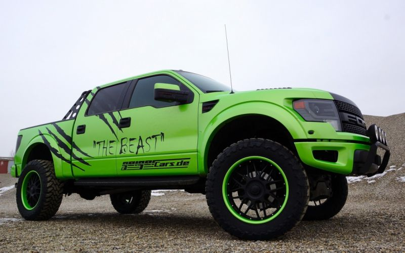 2014 GeigerCars Ford F-150 SVT Raptor Beast pickup muscle tuning hot rod rods gd wallpaper