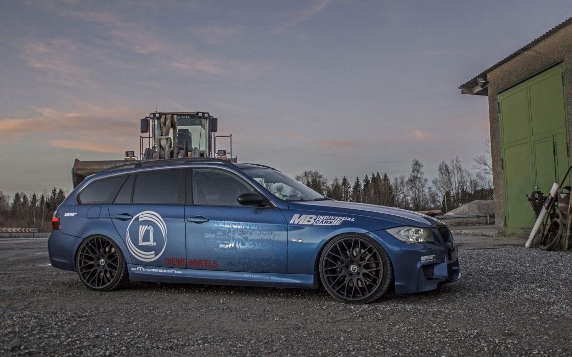2014 M-B BMW 335i Touring stationwagon tuning    d wallpaper