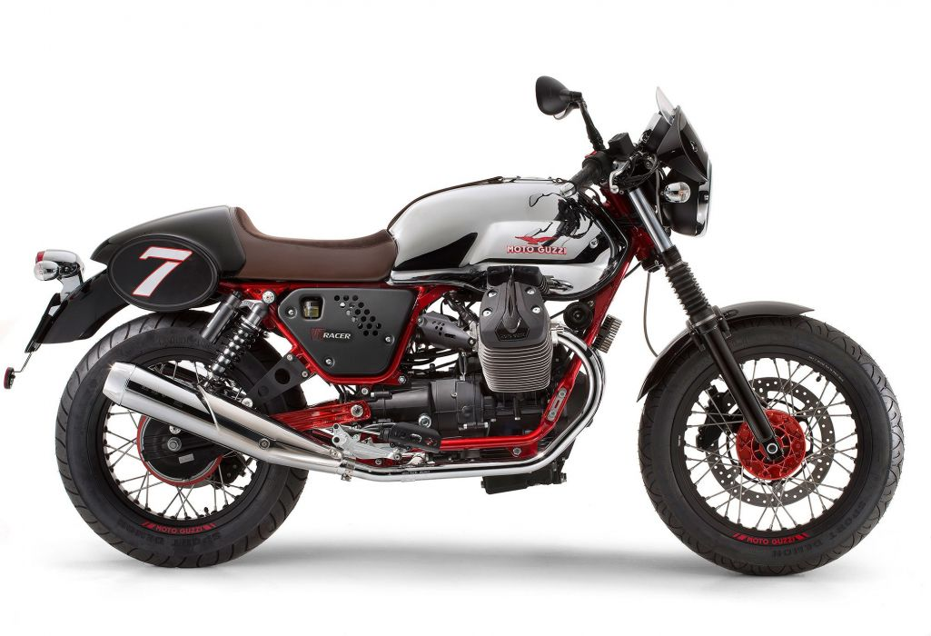 2014 Moto Guzzi V7 Racer race racing   y wallpaper