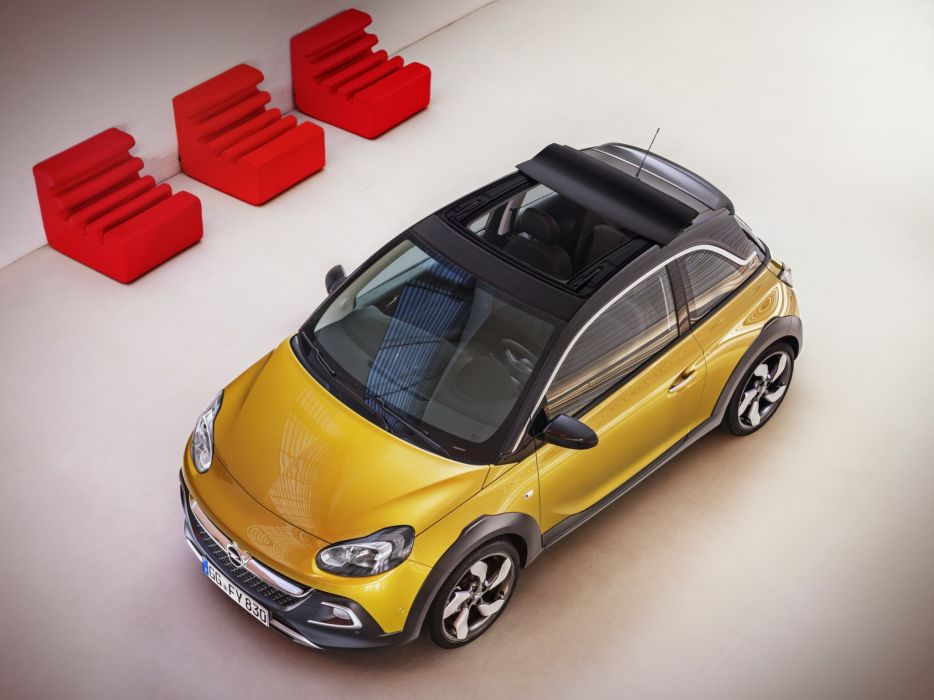 2014 Opel Adam Rocks  ew wallpaper