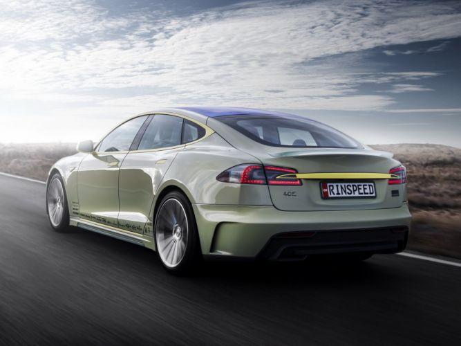 2014 Rinspeed XchangE tesla electric supercar concept j wallpaper