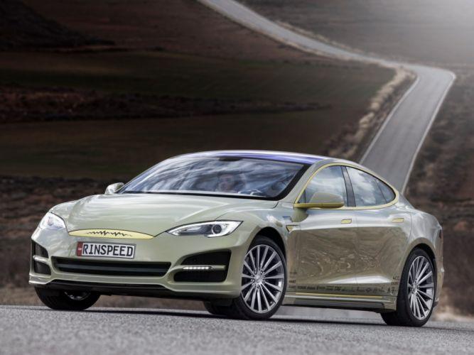 2014 Rinspeed XchangE tesla electric supercar concept r wallpaper