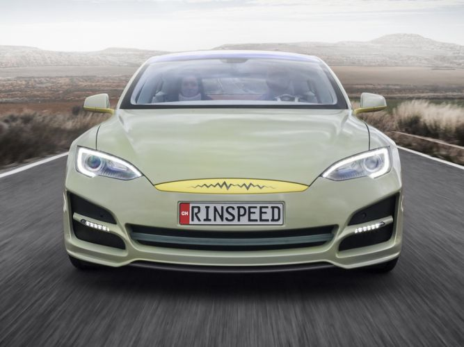 2014 Rinspeed XchangE tesla electric supercar concept e wallpaper