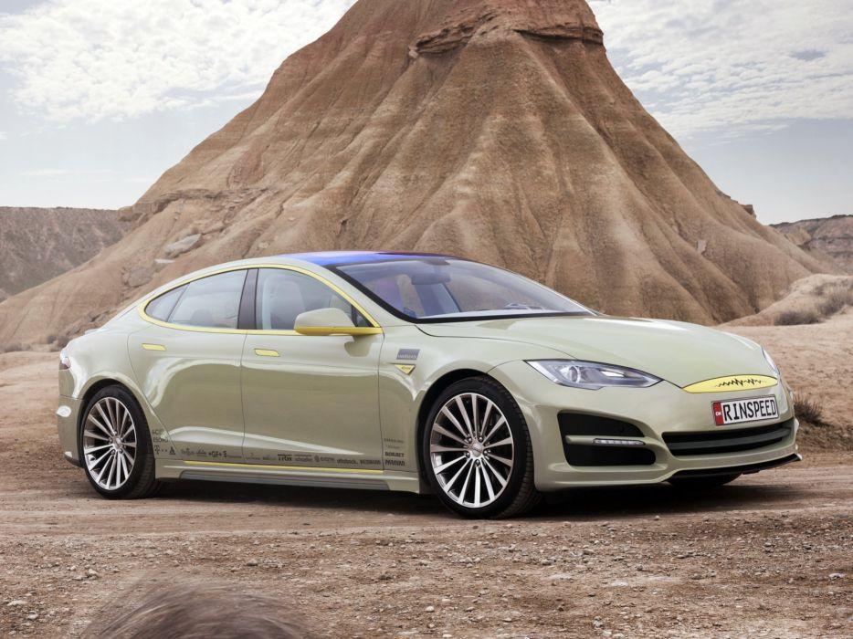 2014 Rinspeed XchangE tesla electric supercar concept   g wallpaper