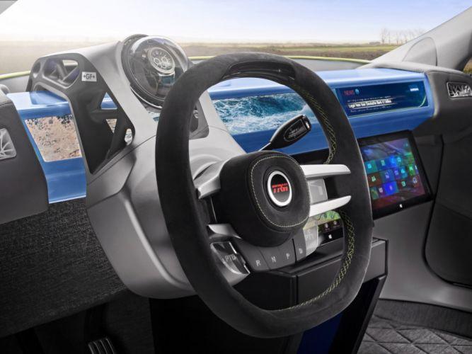 2014 Rinspeed XchangE tesla electric supercar concept interior f wallpaper