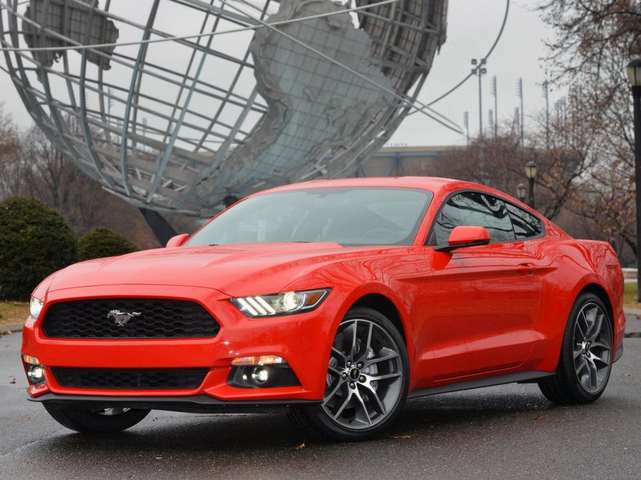 2015 Ford Mustang Coupe muscle      g wallpaper