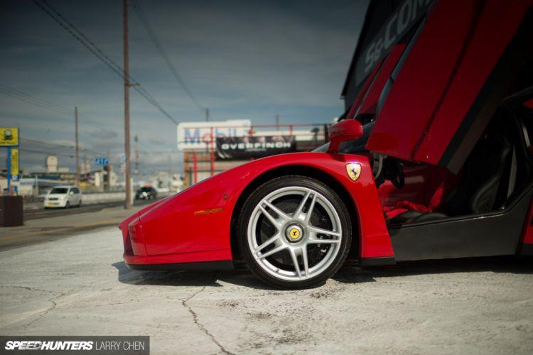 Ferrari Enzo supercar wheel f wallpaper