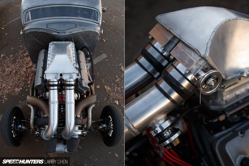 1937 Dodge 1200hp retro hot rod rods drag race racing engine    f wallpaper