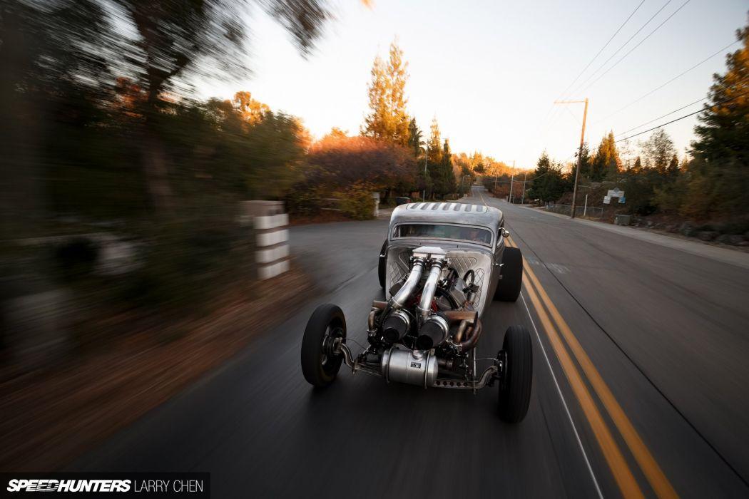 1937 Dodge 1200hp retro hot rod rods drag race racing engine     g wallpaper
