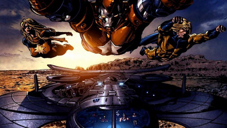 Dark Avengers wallpaper