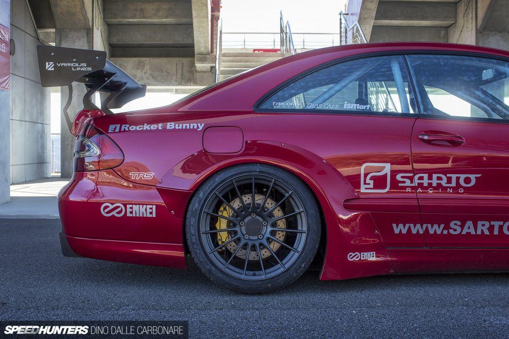 Sarto-Racing X Rocket Bunny W209 CLK240 mercedes benz tuning race racing wheel  v wallpaper