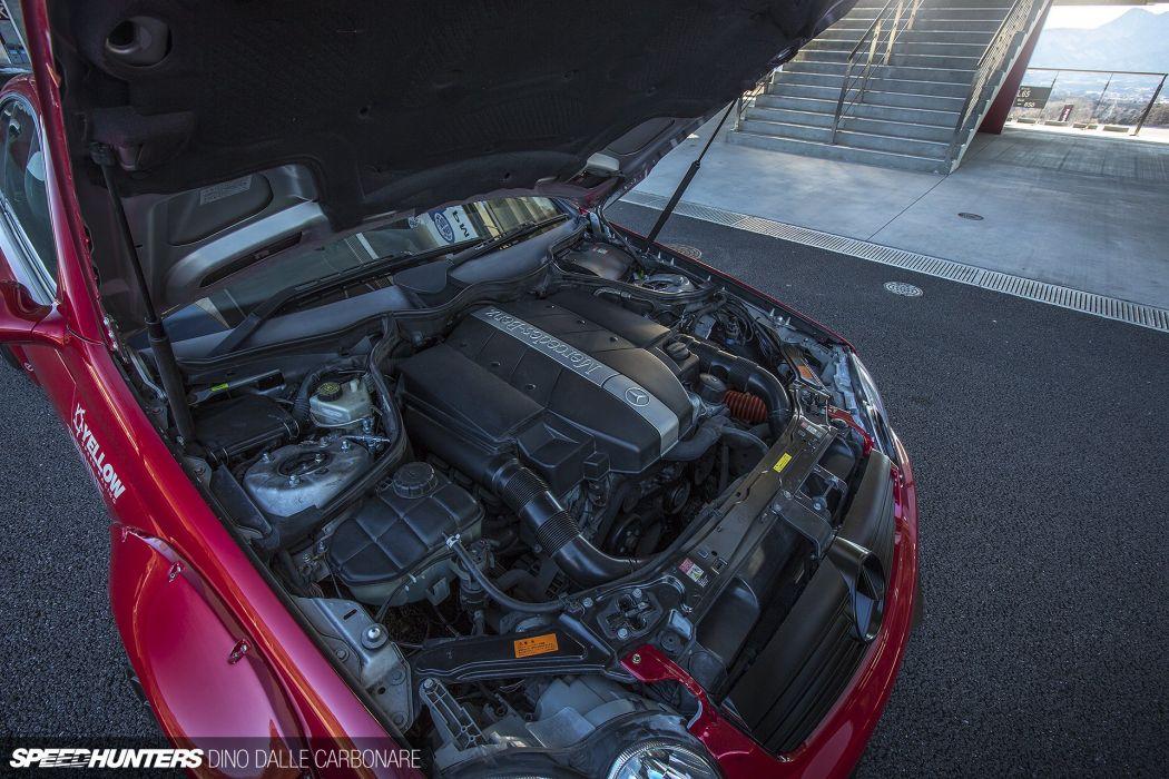 Sarto-Racing X Rocket Bunny W209 CLK240 mercedes benz tuning race racing engine  f wallpaper
