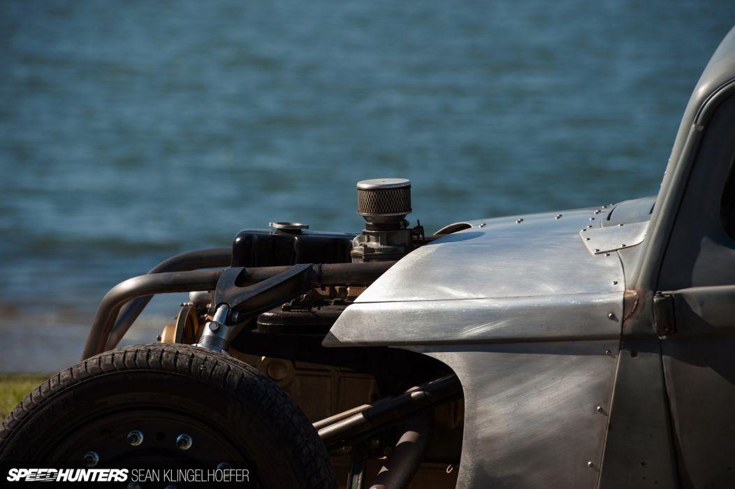 1937 Dodge pickup hot rod rods retro rat engine   g wallpaper