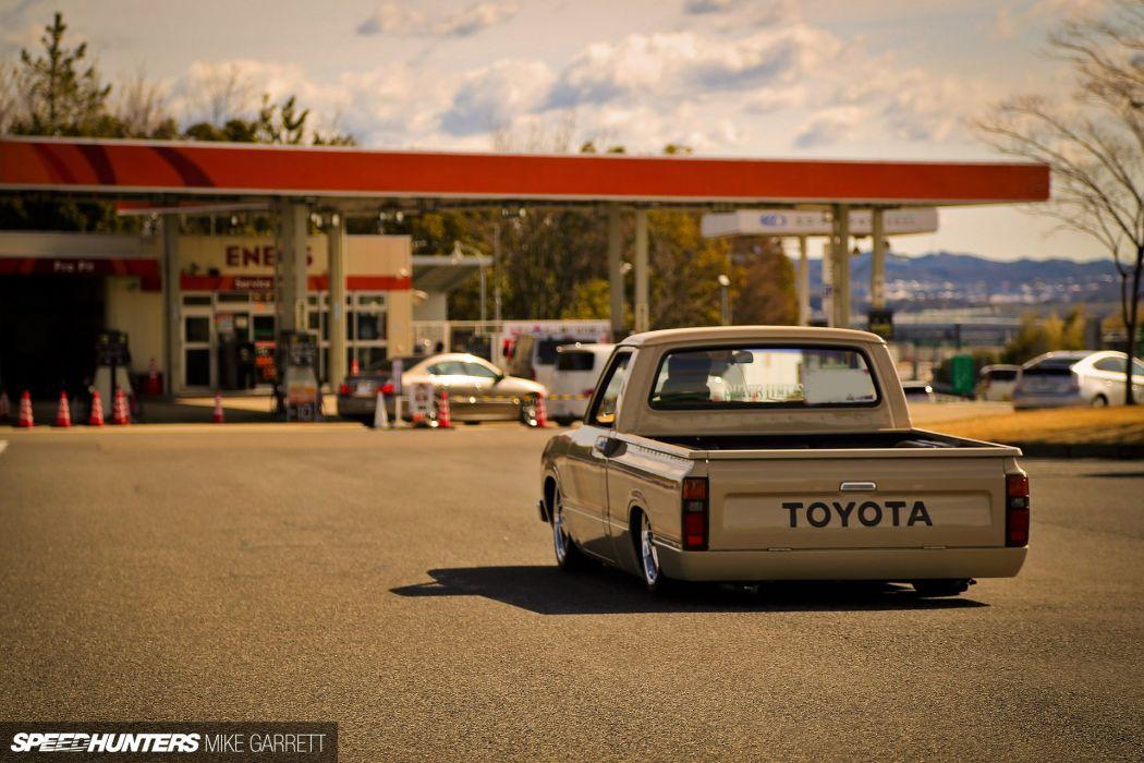 lowrider custom pickup toyota wallpaper
