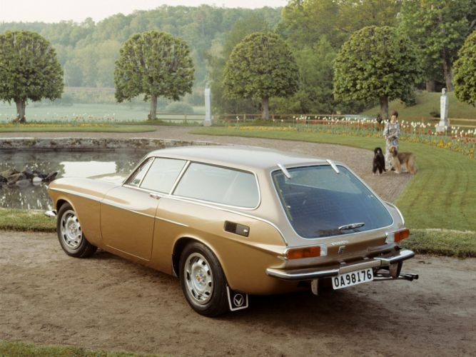 1972 Volvo 1800 ES stationwagon classic gg wallpaper