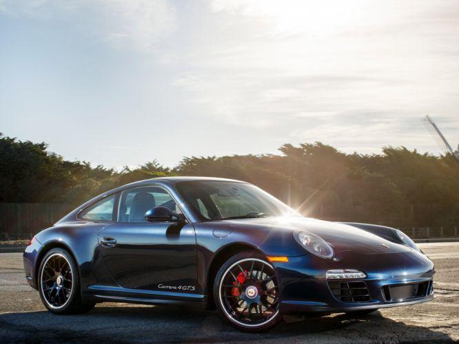 2011 Porsche 911 Carrera 4 GTS Coupe US-spec (997) supercar f wallpaper