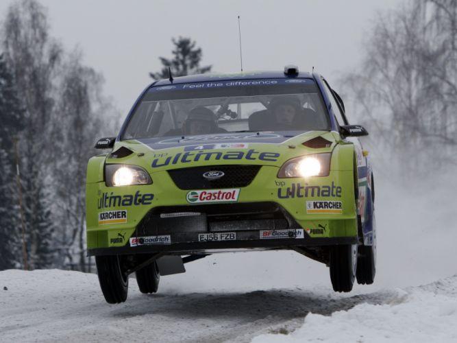 2005 Ford Focus WRC race racing g wallpaper