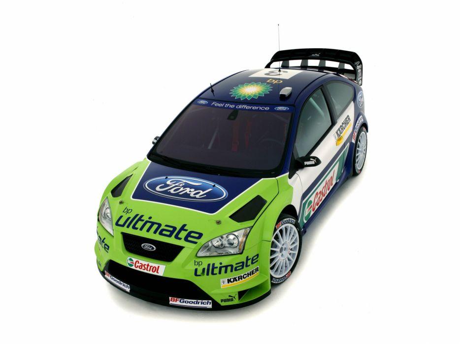2005 Ford Focus WRC race racing   h wallpaper