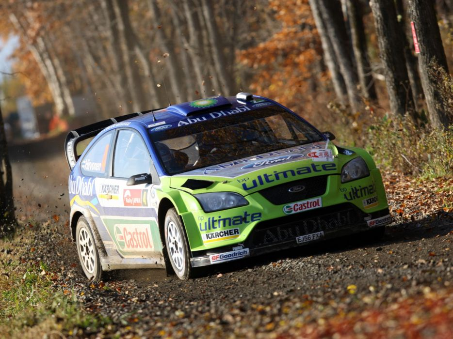 2005 Ford Focus WRC race racing   r wallpaper