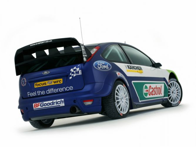 2005 Ford Focus WRC race racing d wallpaper